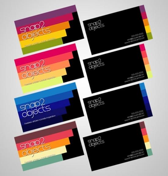 5 business card templates | template Photoshop PSD Kartu Nama Unik ...