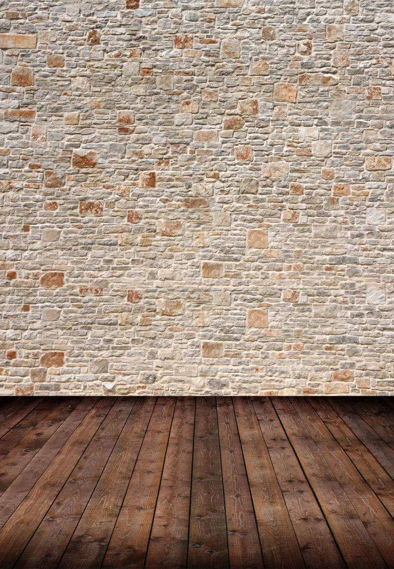 5X8ft Customize vinyl photography backdrop computer print background for photo studios brick-F-1437