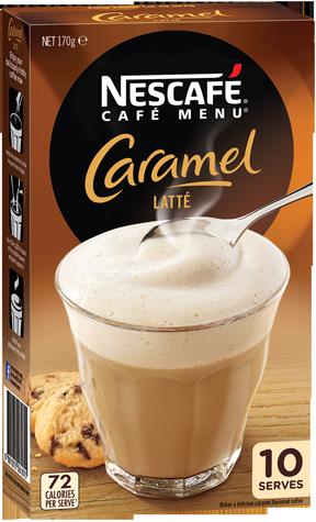 Caramel Latte Sachets
