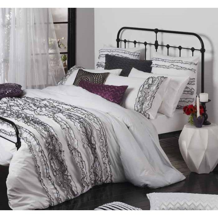 Lola White Quilt Cover Set by Logan & Mason Ultima | Quilt Cover ... : buy quilt covers online - Adamdwight.com
