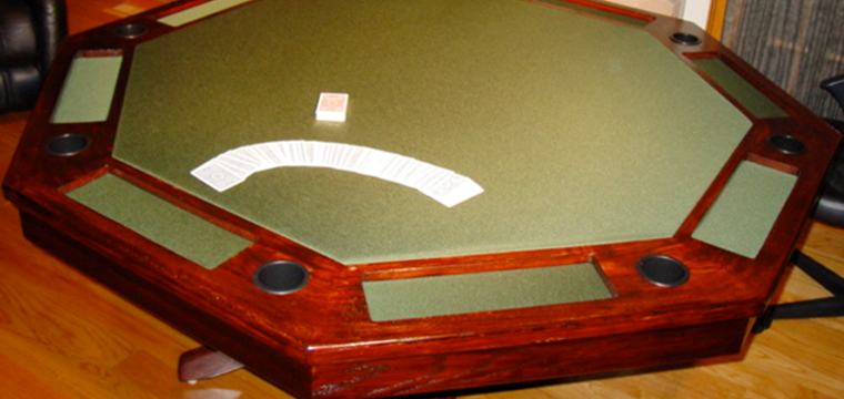 Awesome Part 5: How To Build An Octagon Poker Table U2013 Stain, Poly, Hardware