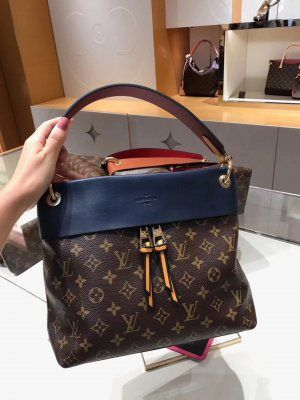 5bbfbed85c23 Louis Vuitton Tuileries Besace Bag M43441 Marine Bordeaux