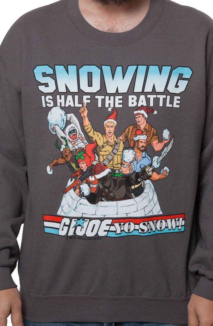 GI Joe Faux Ugly Christmas Sweater | New Mens T-Shirts From 80sTees ...
