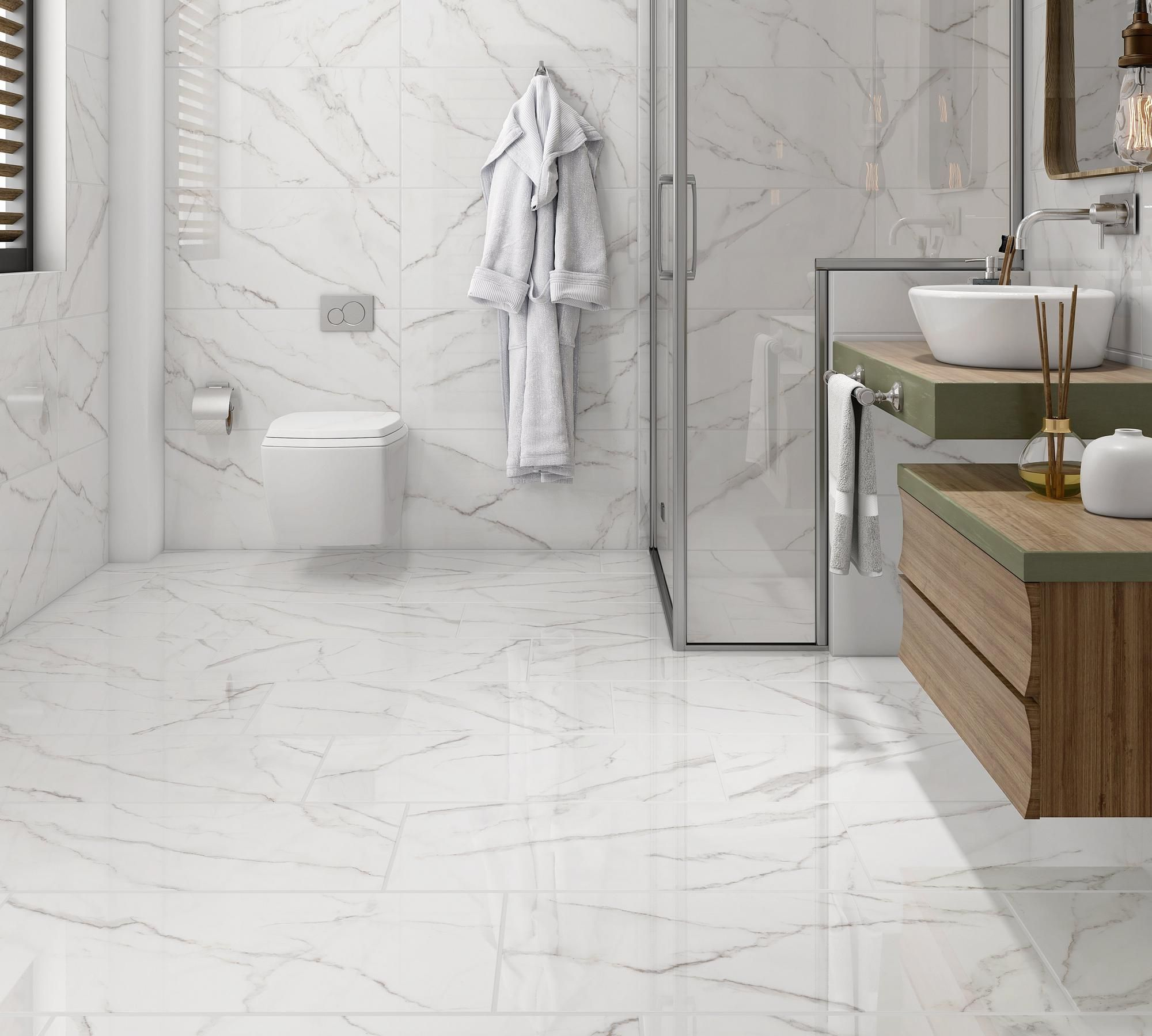 Selah White Ceramic Tile In 2020 White Ceramic Tiles Grey Polished Porcelain Tiles Ceramic Tiles