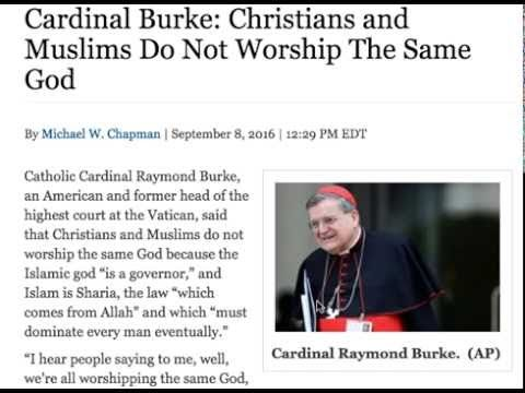 Christians and Muslims Do Not Worship The Same God