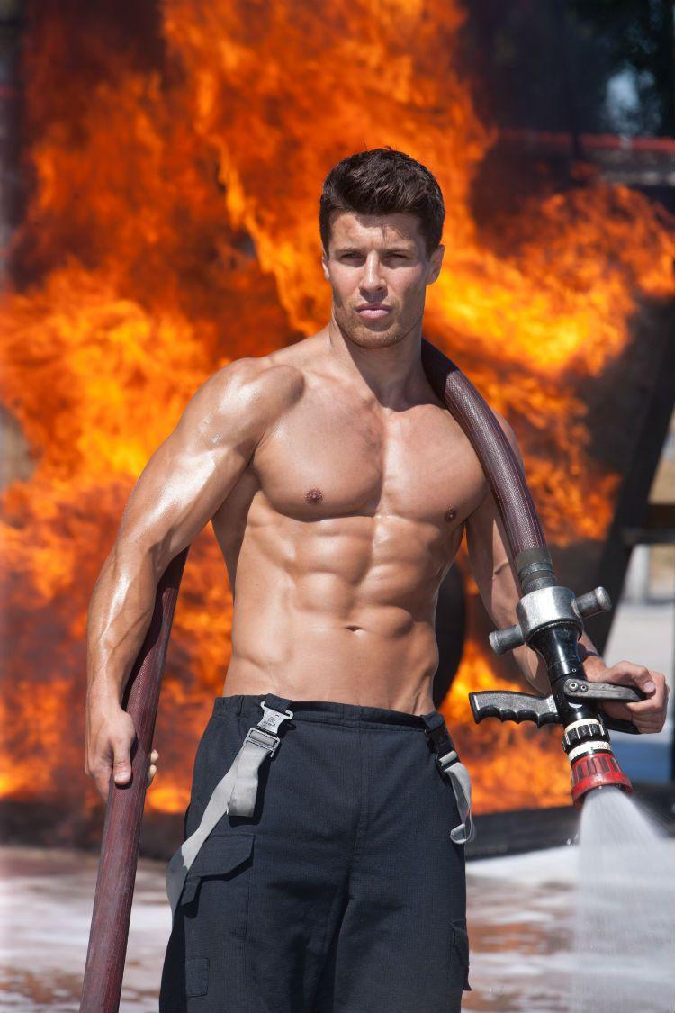 Fireman Calendar May : Ridiculously hot sexy firefighters pinterest