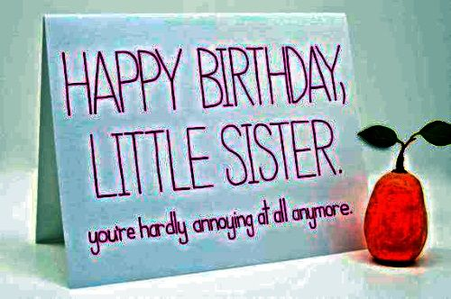 Birthday Wishes Ideas Sister ~ The happy birthday sister wishes girlie things