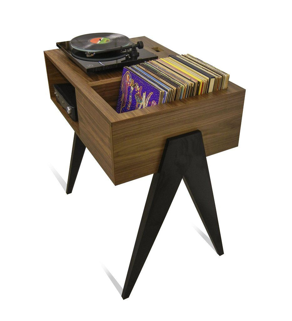 Turntable Stand Single Playa Edition In 2020 Record Stand Quality Furniture Furniture Design