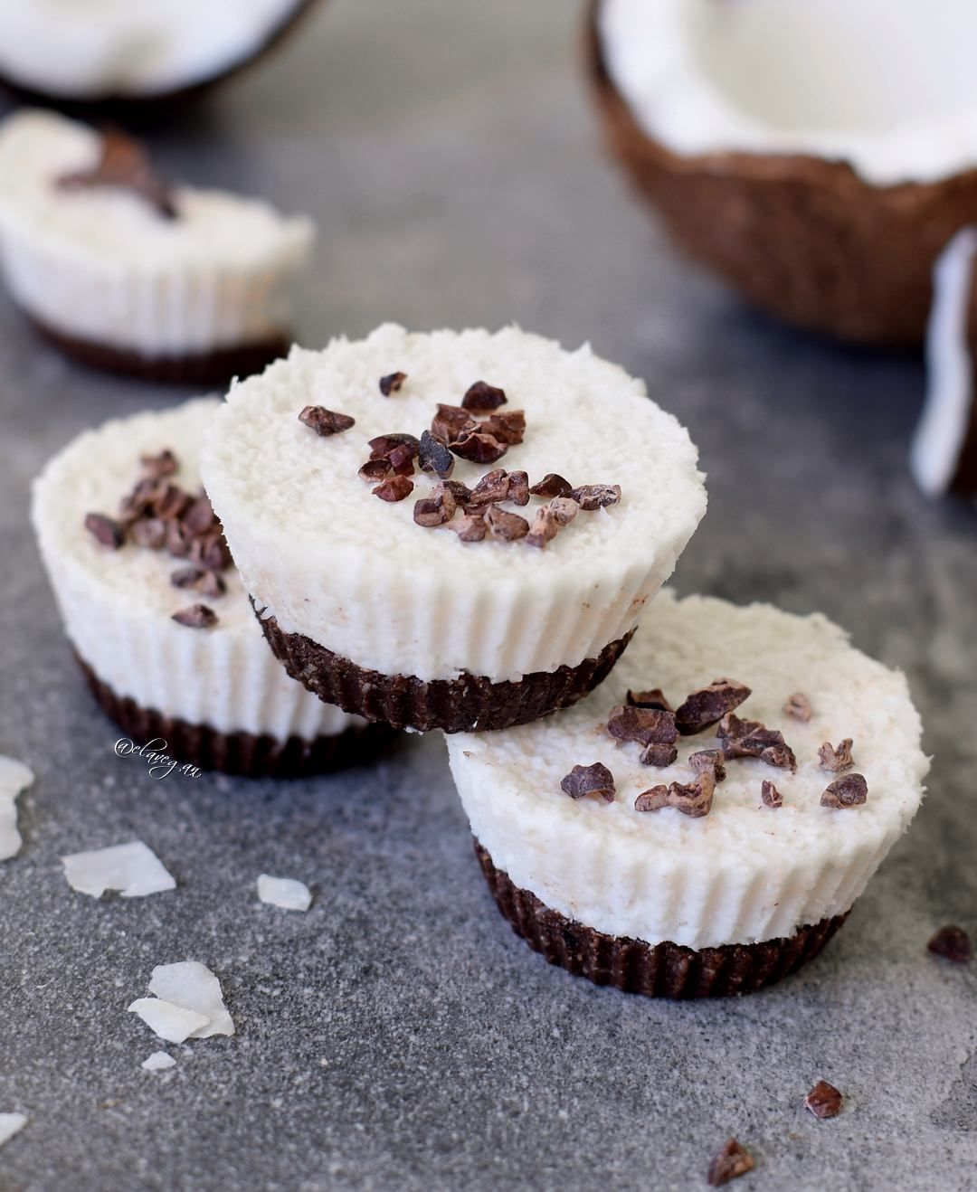 Raw Coconut Cupcakes A Vegan And Gluten Free Recipe Similar To