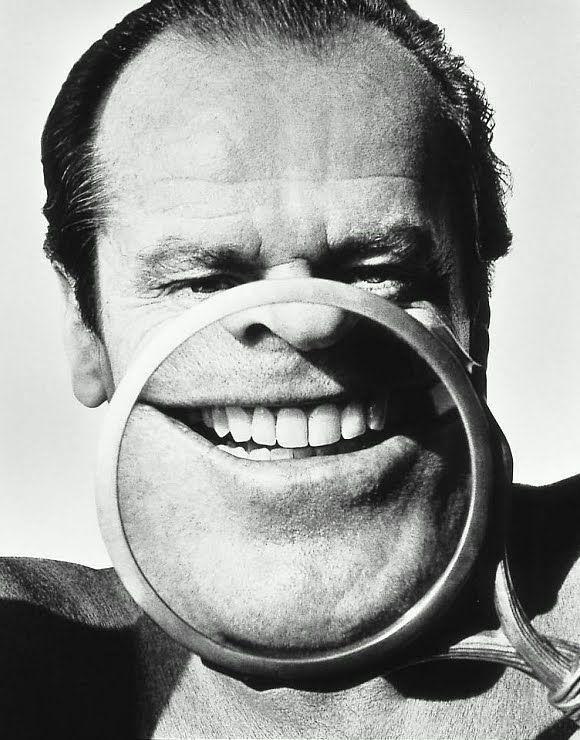 Jack Nicholson black & white
