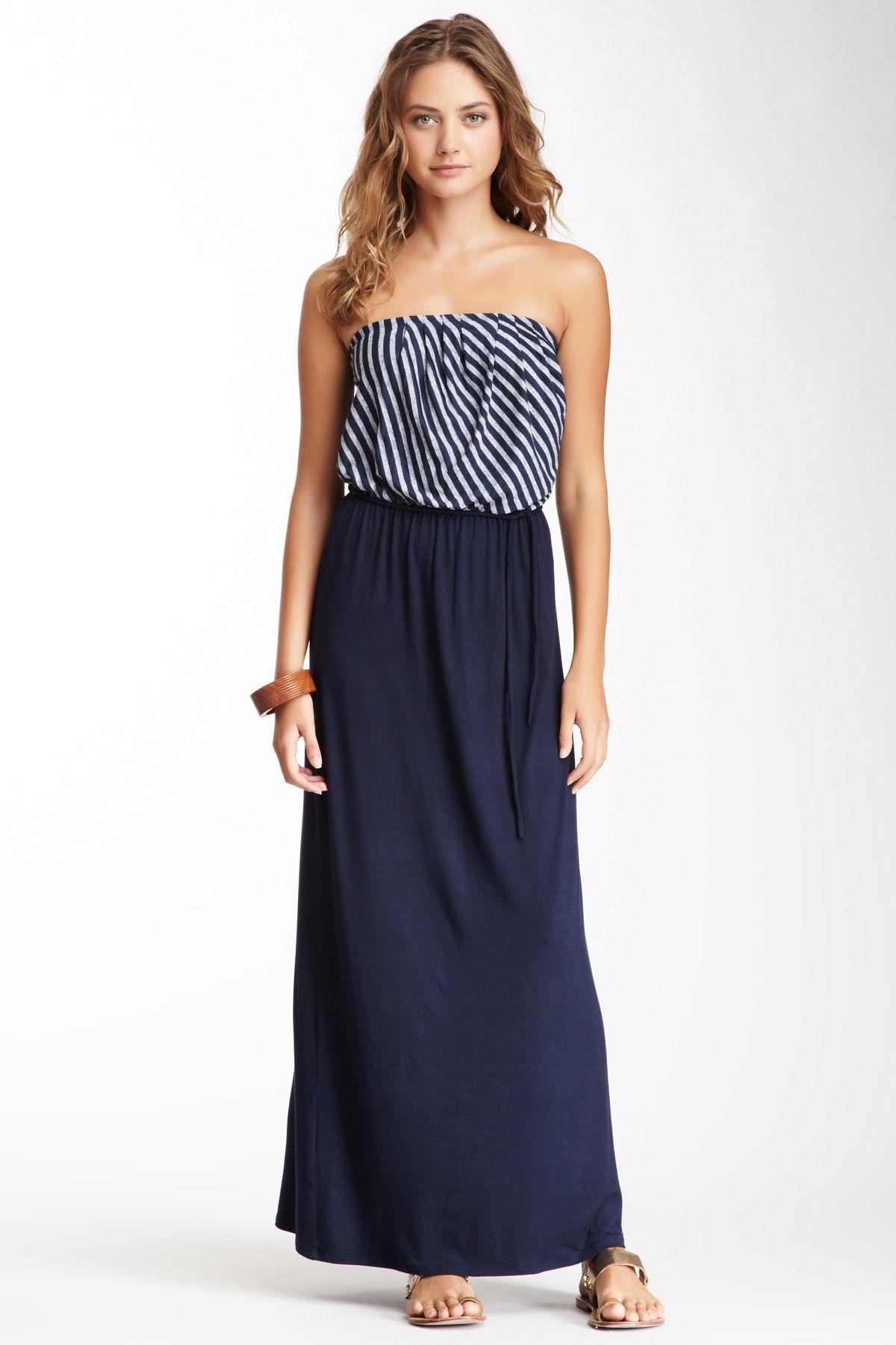 Strapless Maxi Dress on HauteLook $39