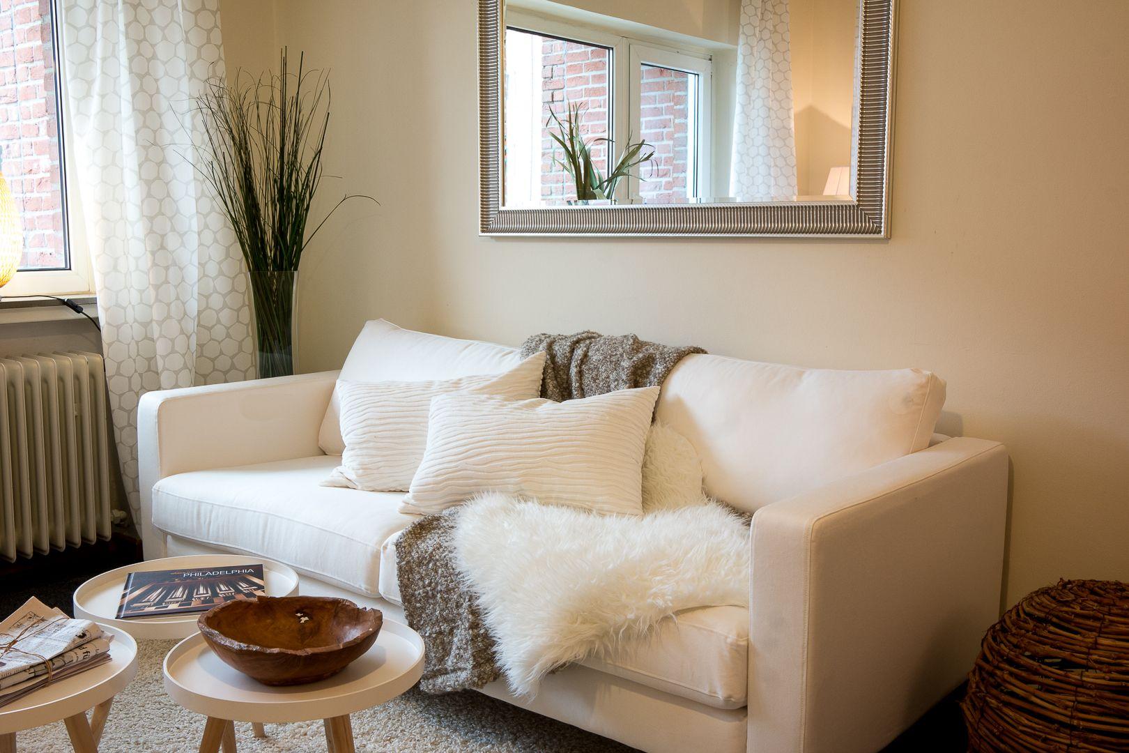 verschiedene Heimtextilien machen das Sofa zur Wohlfühloase!