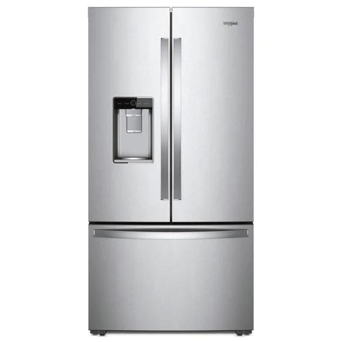 Whirlpool 23 8 Cu Ft Counter Depth French Door Refrigerator With