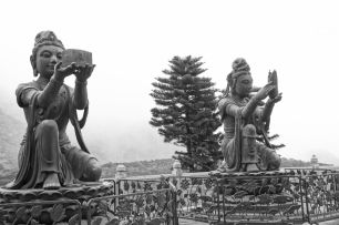 Bodhisattva Buddhas Hong Kong - Lantau IslandArielle Gabriel's new book is about miracles and her everyday life suffering financial ruin in Hong Kong The Goddess of Mercy & The Dept of Miracles, uniquely combines mysticism and realism *