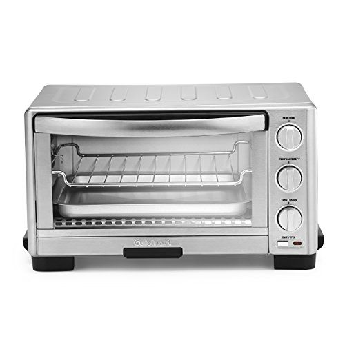 Cuisinart Tob 1010 Toaster Oven Broiler 11 77 X 15 86 X 7 87 Silver In 2020 Toaster Oven Stainless Steel Toaster Cuisinart Toaster