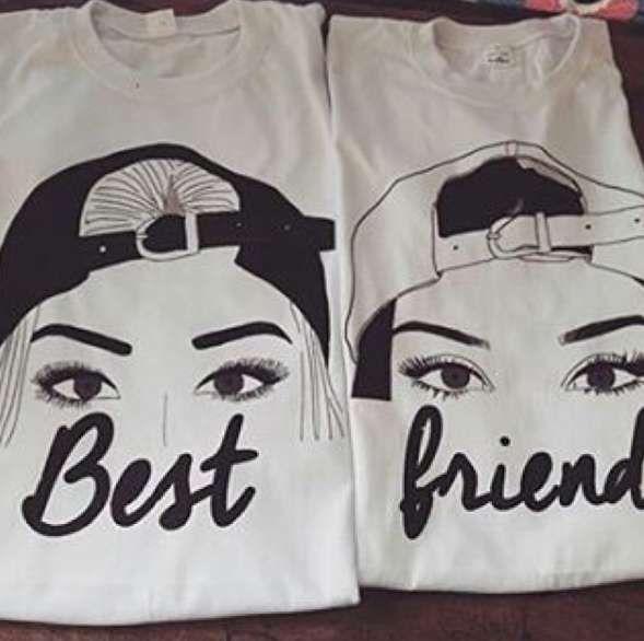 0814f019008 Camisetas para mejores amigas  Ideas originales - Ideas originales ...