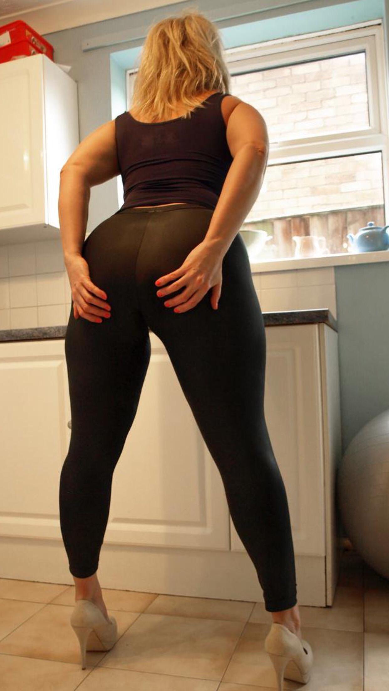 Big black naked ass