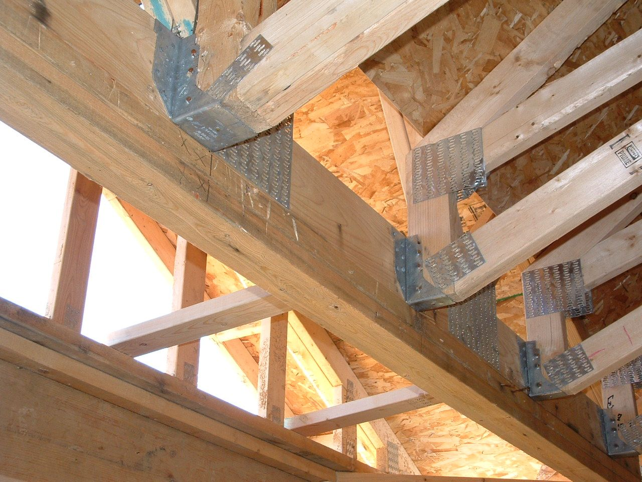 How To Tie A Porch Roof Into A House. Tin Roof Porch