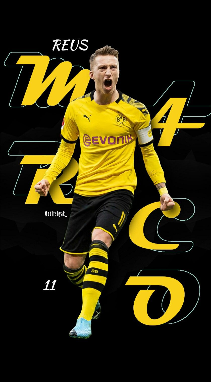 Marco Reus Borussia Dortmund Football Wallpaper In 2020 Football Wallpaper Reus Borussia Dortmund