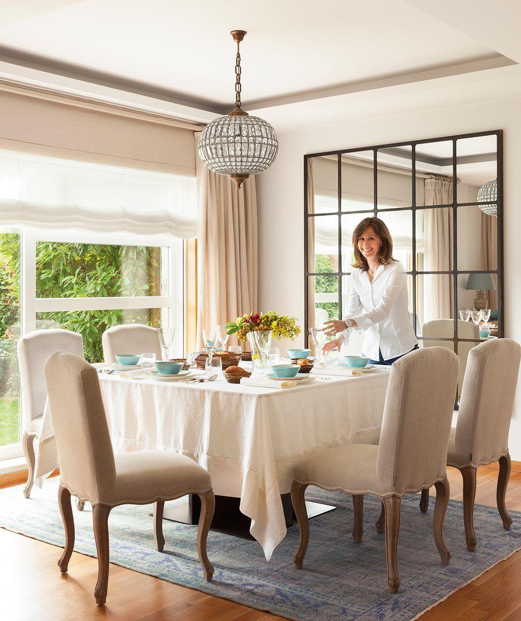La casa ha crecido con nosotros comedores decoraci n for Muebles de comedor elegantes