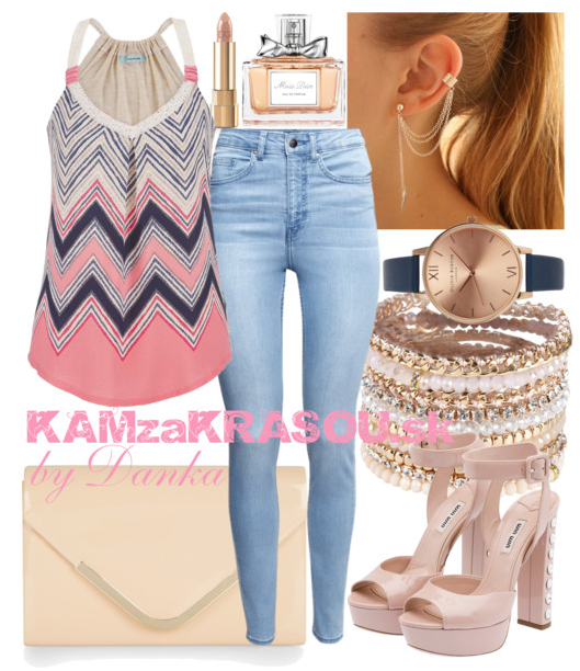 #kamzakrasou #sexi #love #jeans #clothes #coat #shoes #fashion #style #outfit #heels #bags #treasure #blouses #dress V jemnom tóne béžovo-ružovej - KAMzaKRÁSOU.sk