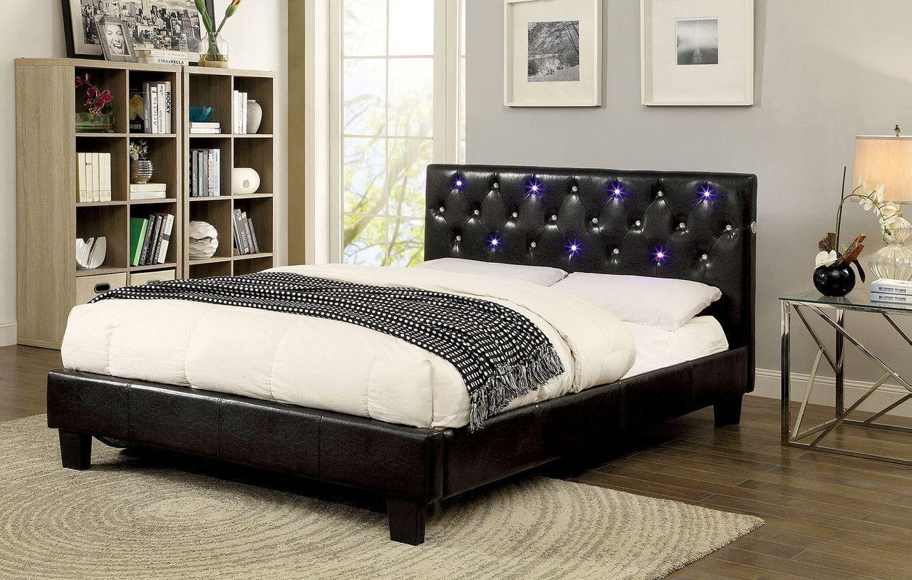 Azaleh Queen Bed CM7431Q for 229 Description Light up