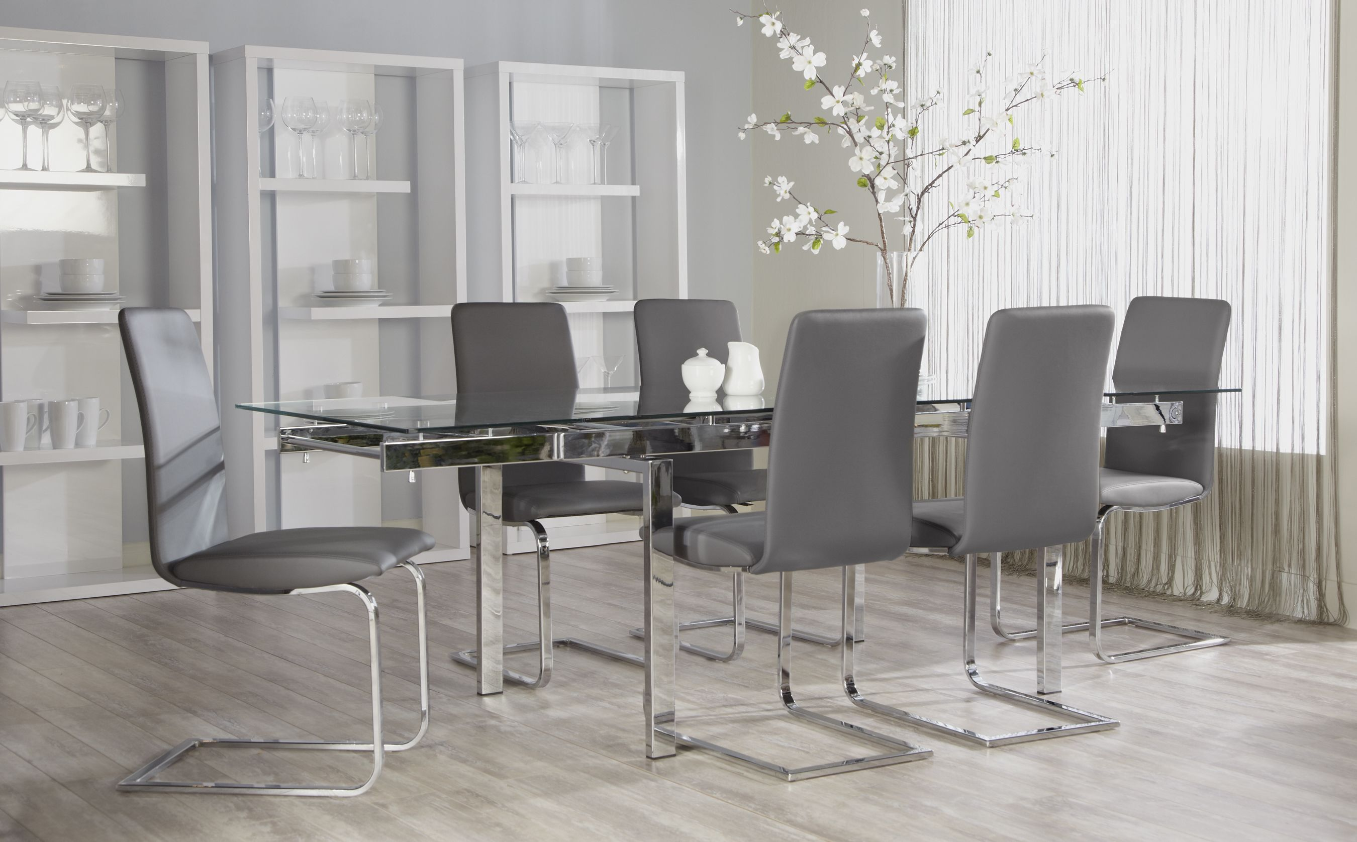 Cinzia Side Chair - Euro Style | Modern dining room