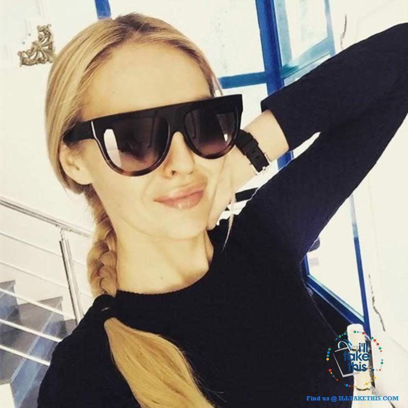 Oversized Designer Cat Eye Womens Sunglasses – Chic Luxury Sunglasses UV400 Shades – 5 Colors