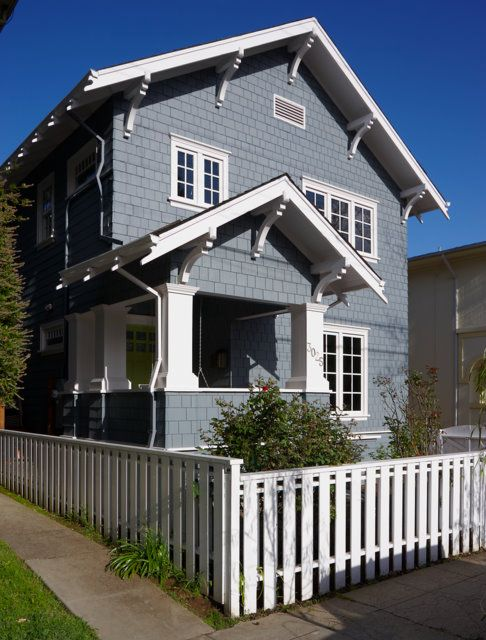 Little Blue Cottage Featured In Better Homes And Gardens With Images Craftsman Cottage House Paint Exterior