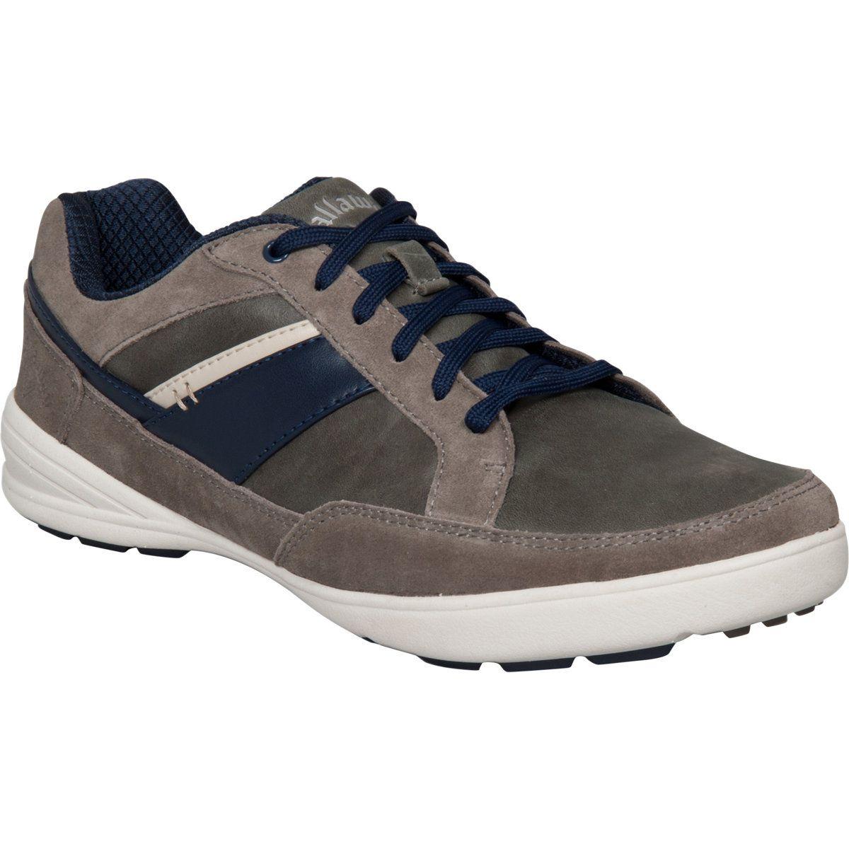 Callaway Men S Del Mar Zephyr Golf Shoe Grey Grey Navy