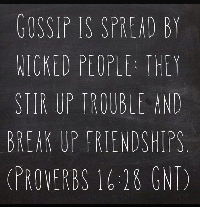 Proverbs16:28