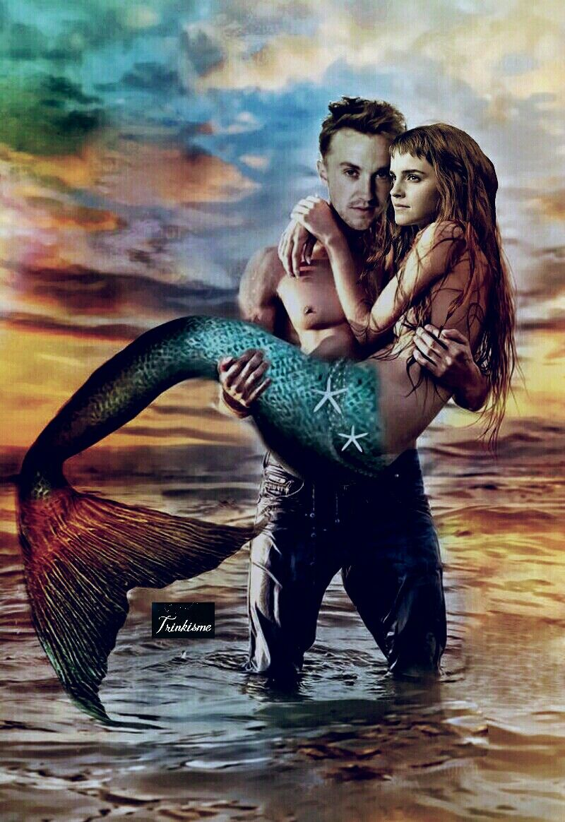 Mermaid Hermione Gifted To Otterlyardent Dramione Hermione Hermione Granger