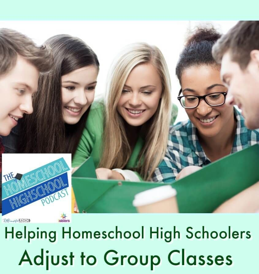 HSHSP Ep 153 Helping Homeschool High Schoolers Adjust to