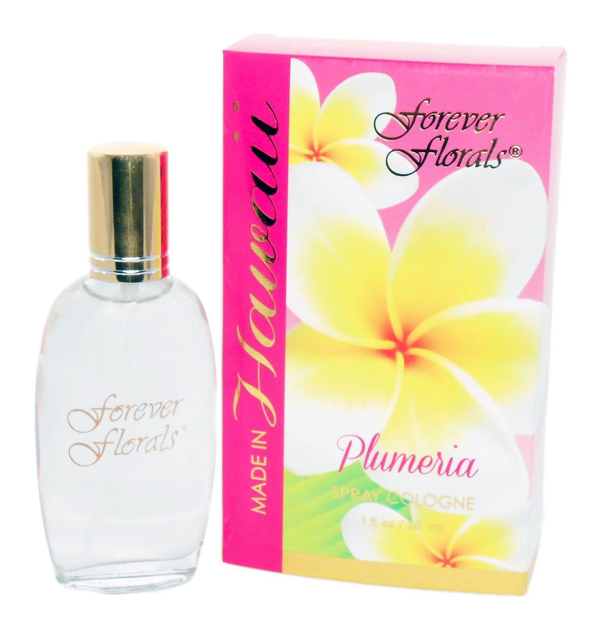 1oz Plumeria Cologne Forever Florals Perfume Plumeria Fragrance