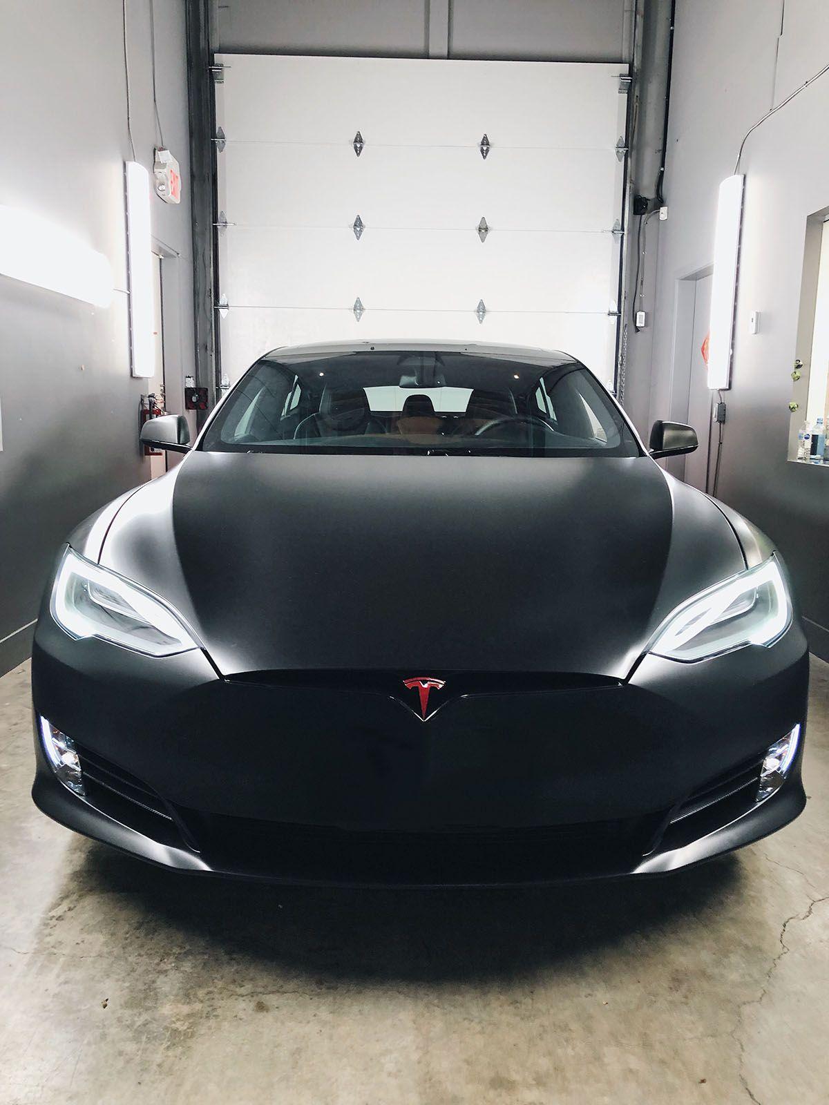 Tesla Model S Satin Black In 2020 Tesla Model S Tesla Model S Black Tesla Model