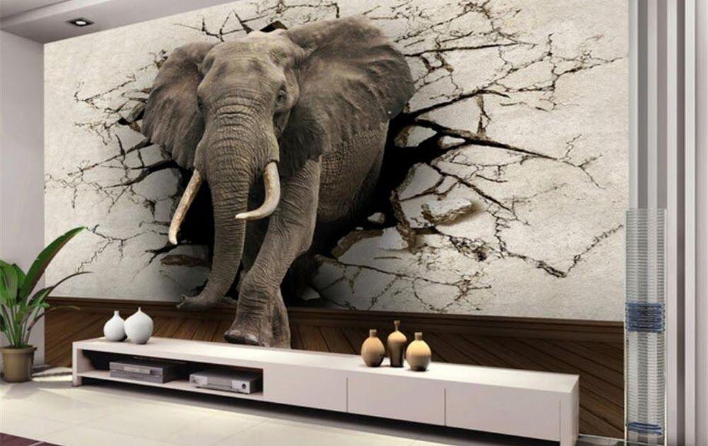 Us 8 85 41 Off Beibehang 3d Tapete Elefanten Wandbild Tv Wand Hintergrund Wand Wohn In 2020 Living Room Decor Colors Living Room Decor Orange Color Palette Living Room