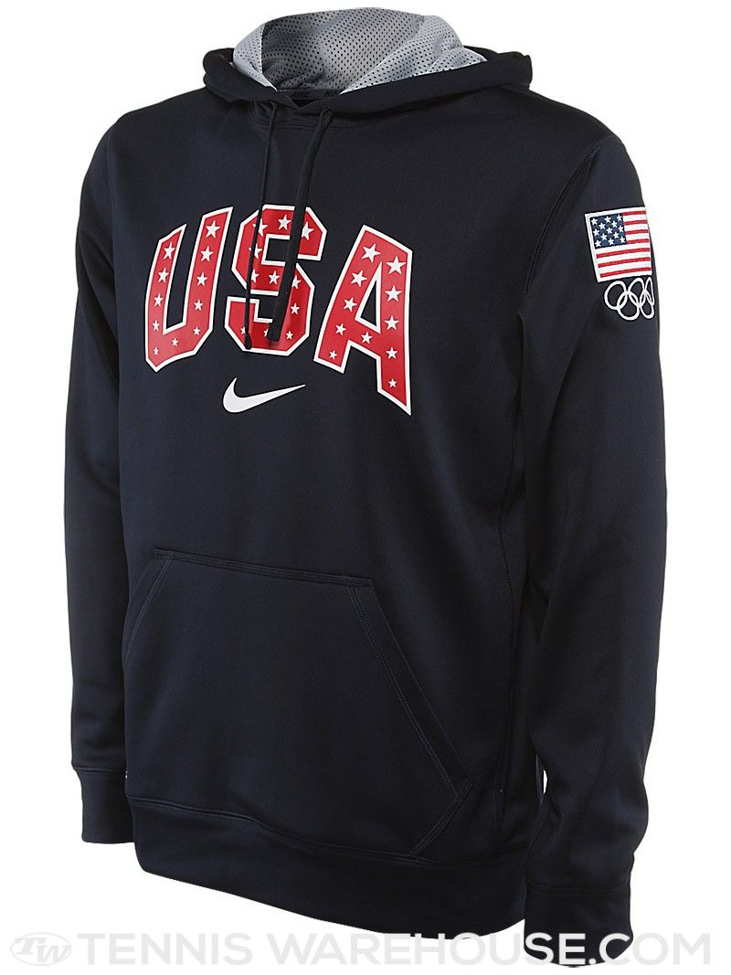 Stay warm and cozy while you cheer on Team USA in this soft #Nike hoodie!