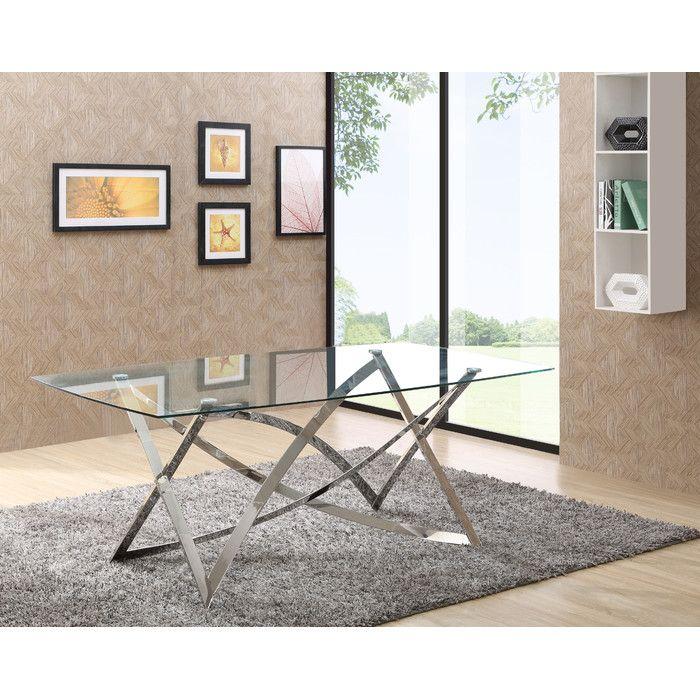 VIG Furniture Modrest Labyrinth Dining Table U0026 Reviews | Wayfair