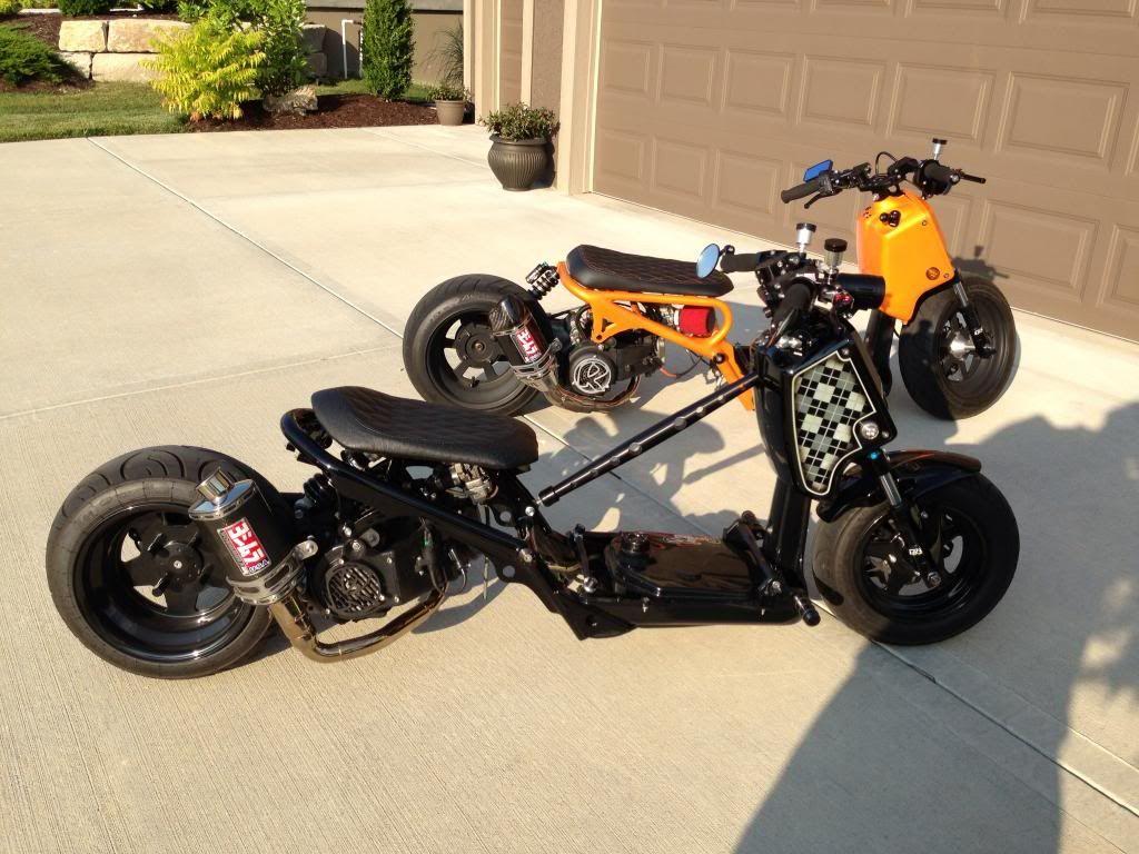 Honda Zoomer Custom Uk Google Search Honda Motos
