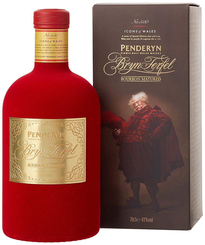 Penderyn Bryn Terfel Giftbox Welsh Spirit Labels Wine And Beer Whisky