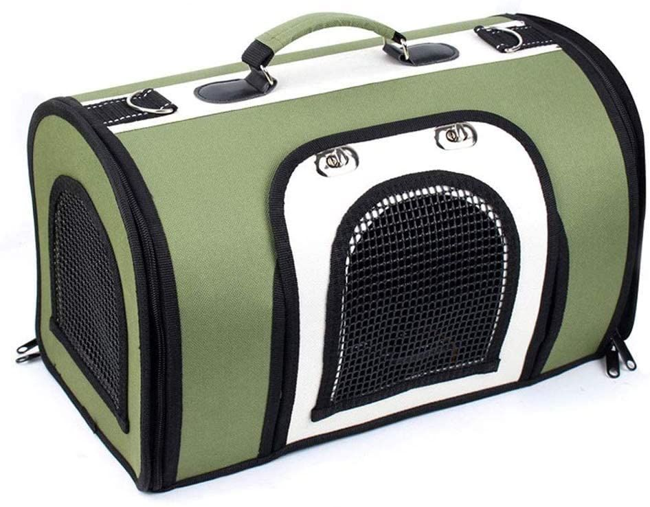Kennel Portable Breathable Pet Carrier Outdoor Travel Pet Bag Fashion Oxford Soft Face Foldable Pet In 2021 Dog Travel Bag Pet Bag Dog Backpack Carrier
