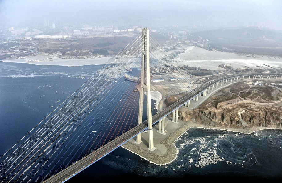 Russky Bridge, Russia