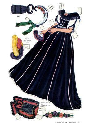 Las Recortables de Veva e Isabel: Century Dolls