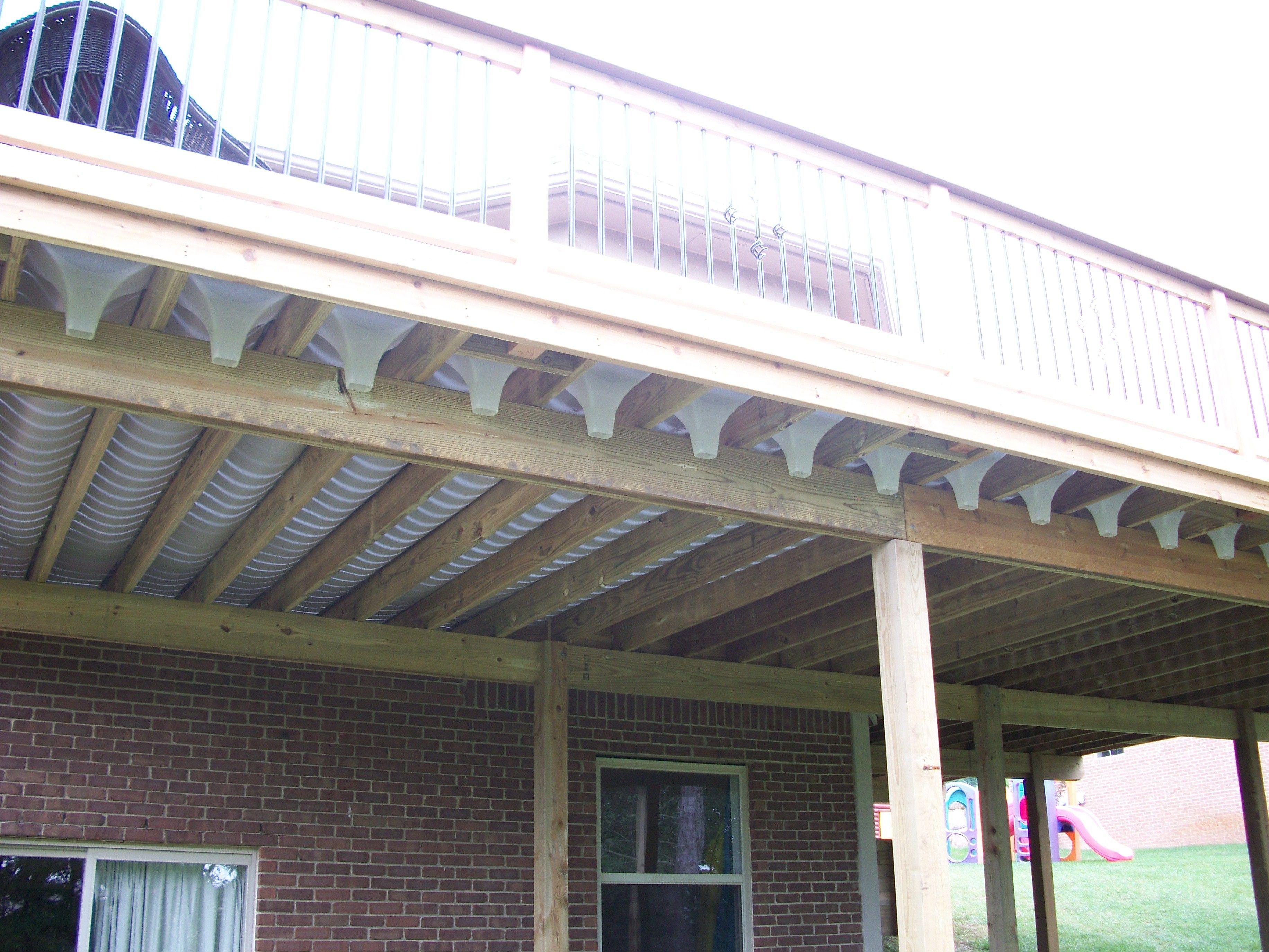 Southeastern Michigan Under Deck Drainage System Rainescape