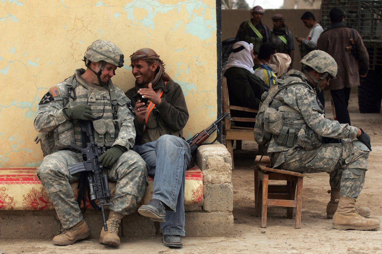 The Most Iconic Images From The Iraq War Photos Iraq War War
