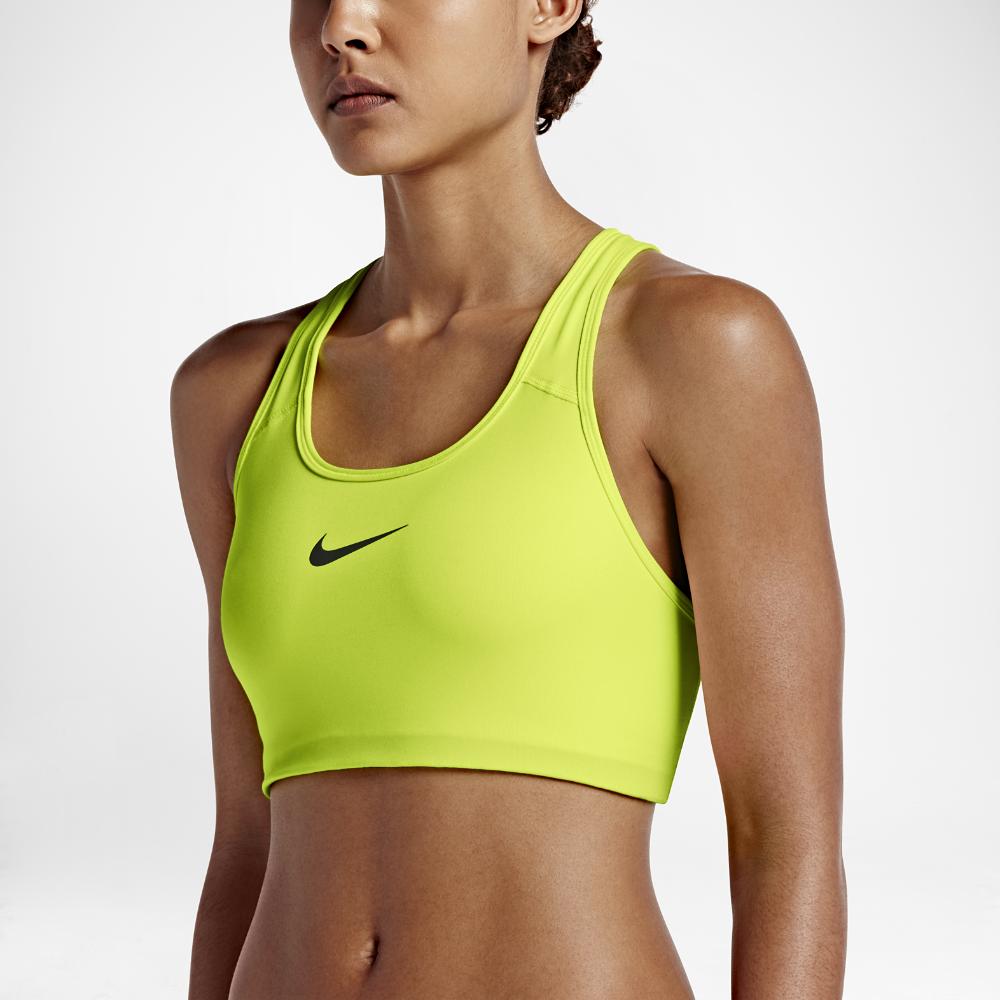 dcbadbeac3 Nike Classic Swoosh Women s Medium Support Sports Bra Size ...