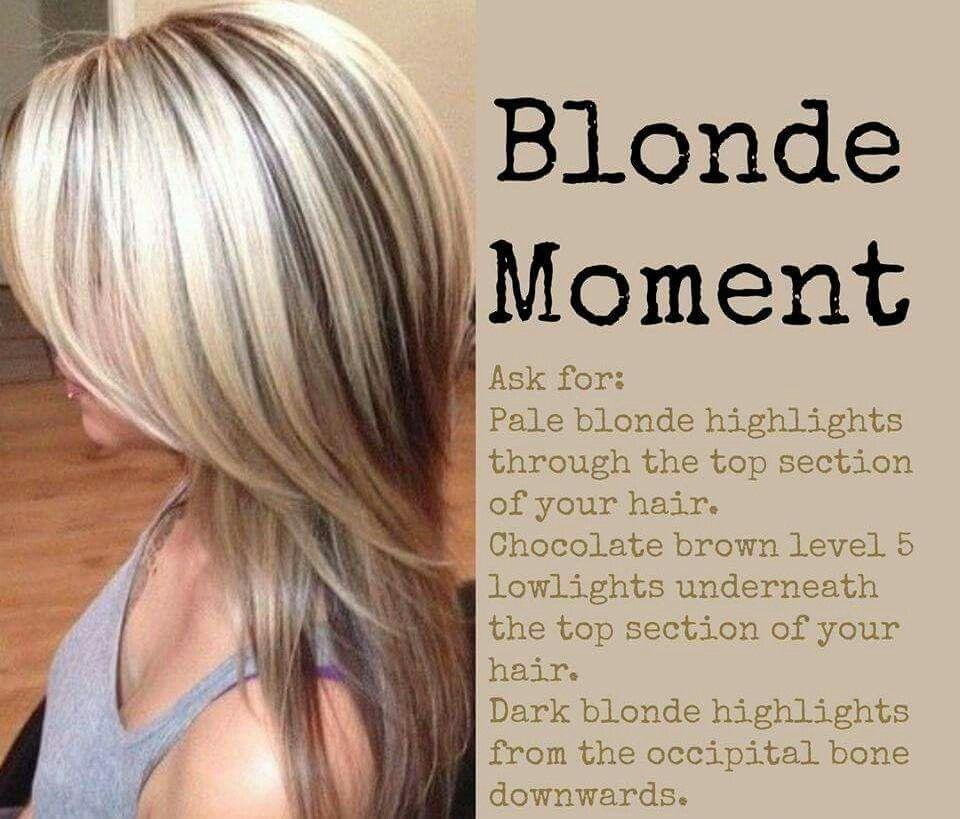 Blonde Moment Hair Goals, Locks, Hair Color Highlights Blonde, Blonde  Color, Heavy