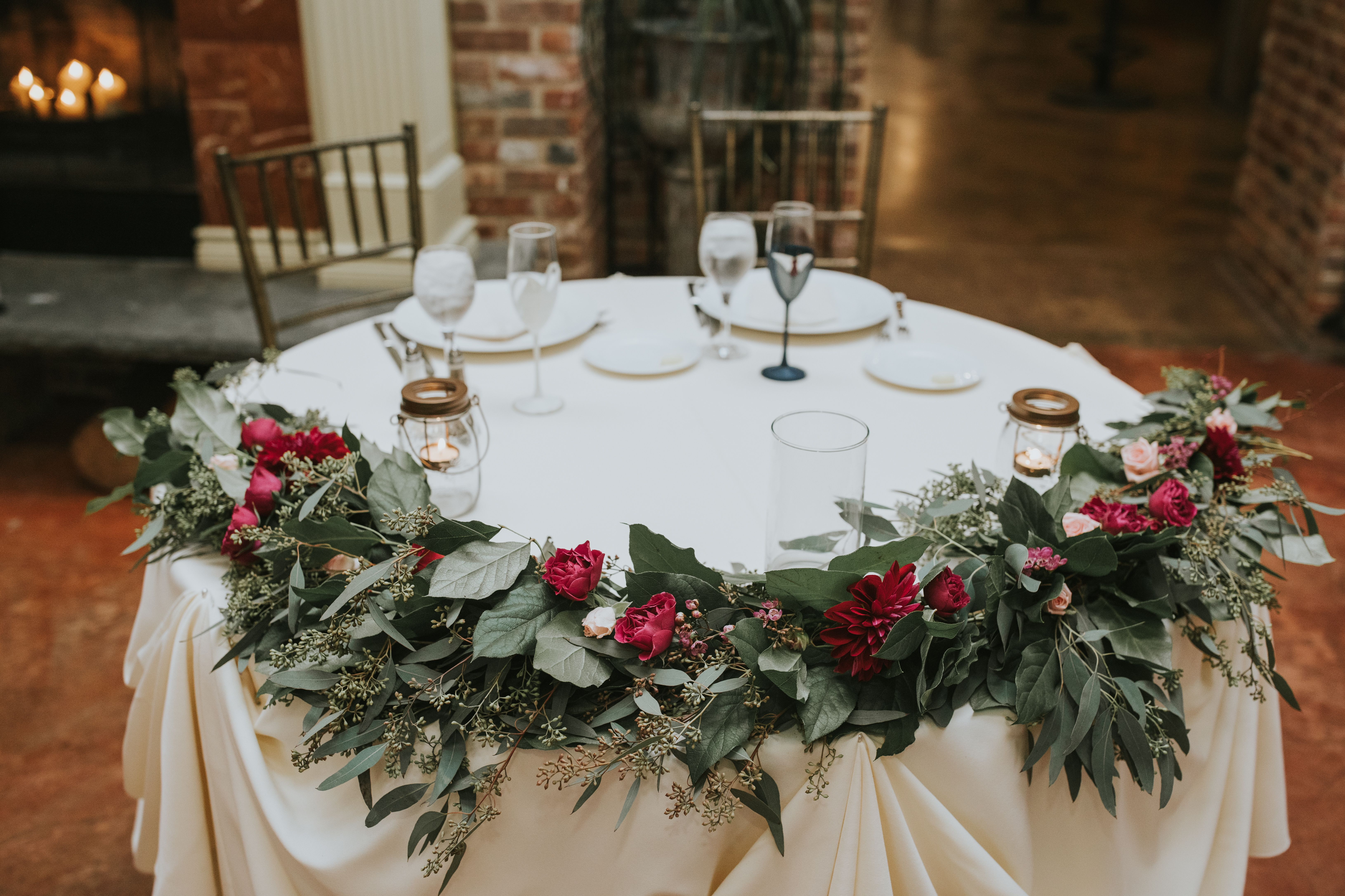 Down The Aisle Head Table Or Sweetheart Table: Head Table, Sweetheart Table Decor, Wedding Ideas, Wedding
