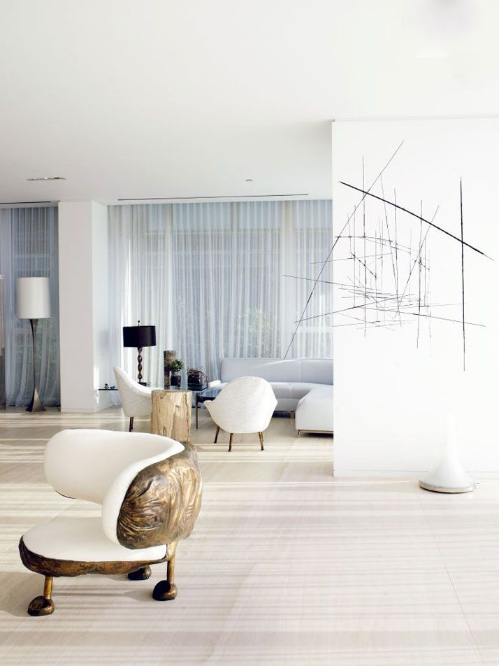 George Yabu and Glenn Pushelberg Apartment in New York