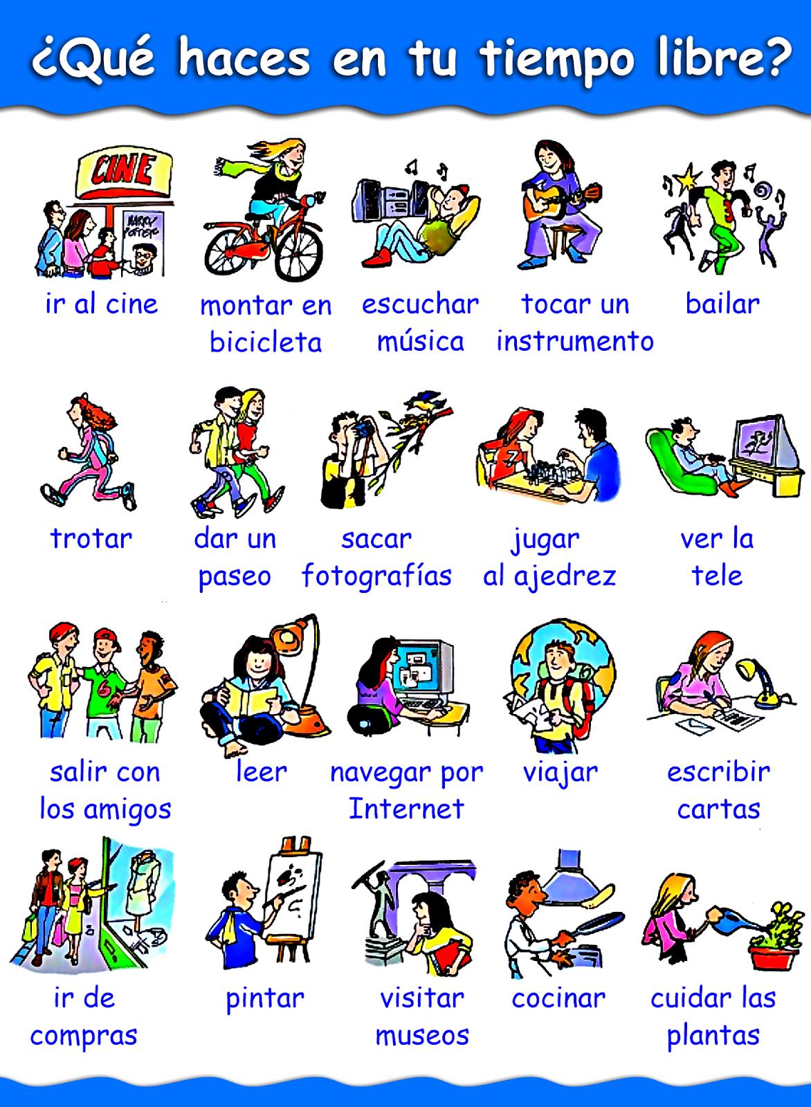 La Rutina De Esteban Elementary Spanish Spanish Classroom